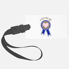 Winning Blue Ribbon Luggage Tag