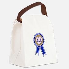 1st Blue Ribbon Canvas Lunch Bag