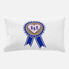 1st Blue Ribbon Pillow Case