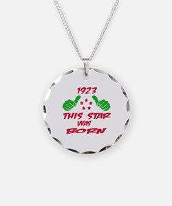 1923 This star was born Necklace