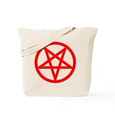 Bloody Pentagram Tote Bag