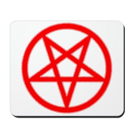 Bloody Pentagram Mousepad