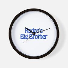 Kaden's Big Brother Wall Clock