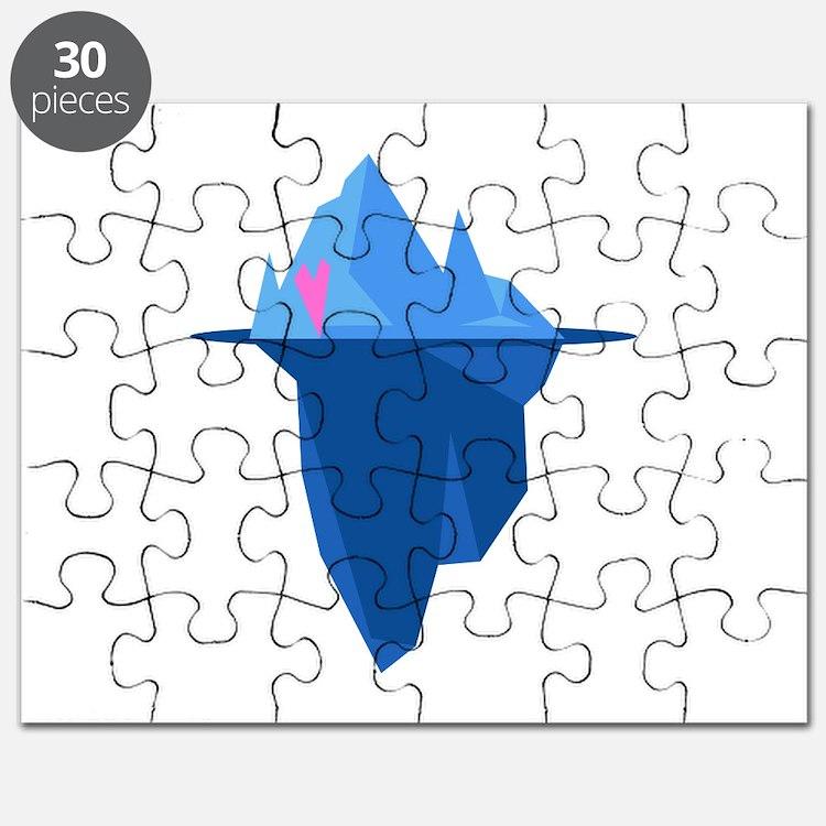 Love Iceberg Puzzle