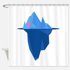 Love Iceberg Shower Curtain