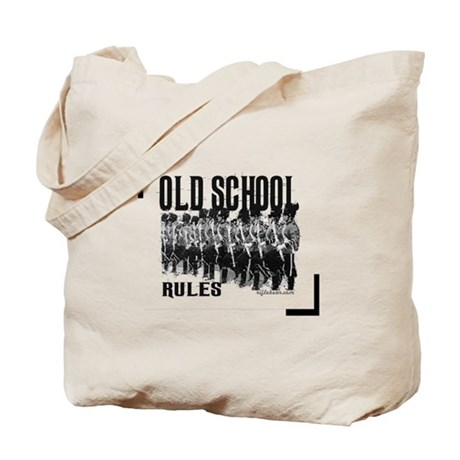 Old School Rules Tote Bag