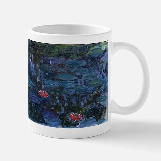 Claude Monet's Nympheas reflets de saule Mugs