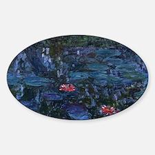 Claude Monet's Nympheas reflets de saule Decal