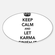 Cute Keep calm and finish your dissertation Sticker (Oval)