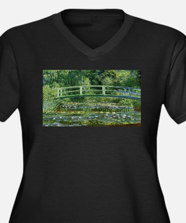 Claude Monet's Water Lilies and Plus Size T-Shirt