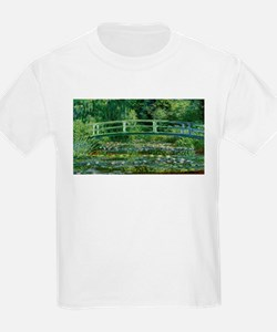 Claude Monet's Water Lilies and Japanese B T-Shirt