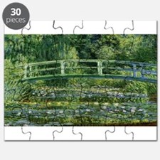 Claude Monet's Water Lilies and Japanese Br Puzzle