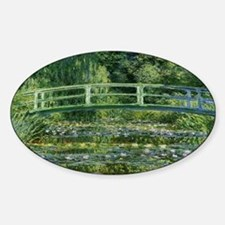 Claude Monet's Water Lilies and Japanese B Decal