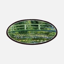 Claude Monet's Water Lilies and Japanese Bri Patch