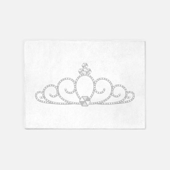 Princess Tiara 5'x7'Area Rug