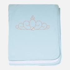 Princess Tiara baby blanket