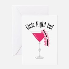 Girls Night Out Greeting Cards