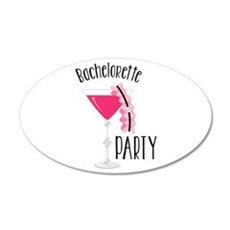 Bachelorette Party Wall Decal