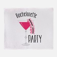 Bachelorette Party Throw Blanket