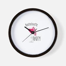 Bachelorette Party Wall Clock