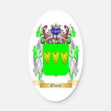 Owen Oval Car Magnet