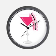 Bachelorette Party Cocktail Wall Clock