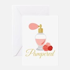 Pampered Perfume Greeting Cards