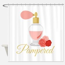 Pampered Perfume Shower Curtain