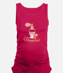 Pampered Perfume Maternity Tank Top