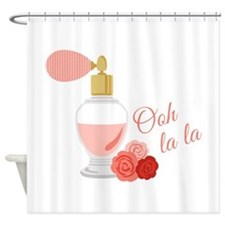 Ooh La La Perfume Shower Curtain