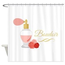 Boudoir Perfume Shower Curtain