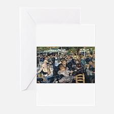 Pierre-August Renoir's Bal du mouli Greeting Cards