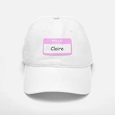 My Name is Claire Baseball Baseball Cap