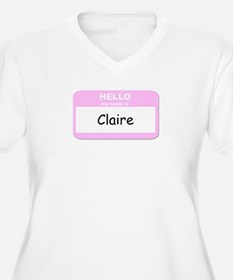 My Name is Claire T-Shirt