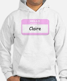 My Name is Claire Jumper Hoody