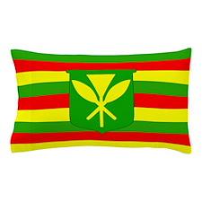 Kanaka Maoli Flag Pillow Case