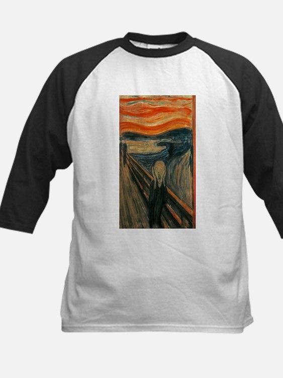 Edvard Munch's The Scream Baseball Jersey