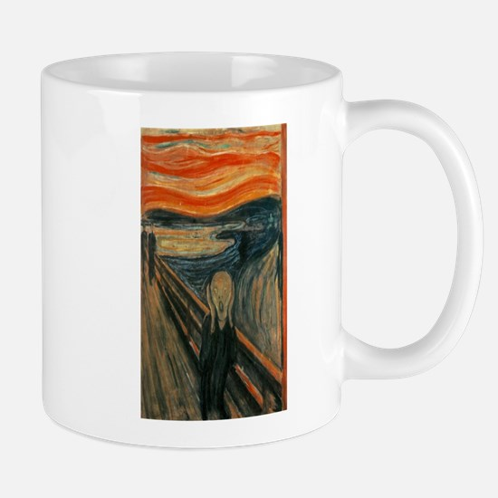Edvard Munch's The Scream Mugs