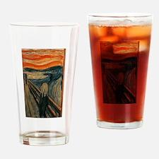 Edvard Munch's The Scream Drinking Glass