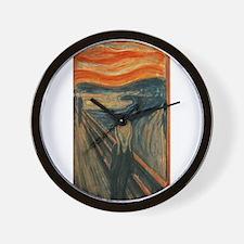 Edvard Munch's The Scream Wall Clock