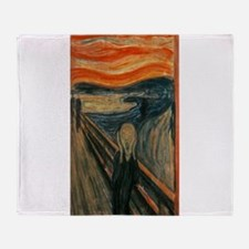 Edvard Munch's The Scream Throw Blanket