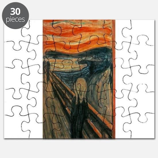 Edvard Munch's The Scream Puzzle