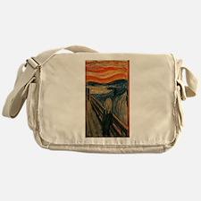 Edvard Munch's The Scream Messenger Bag