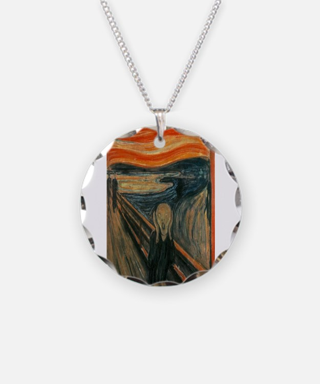 Edvard Munch's The Scream Necklace