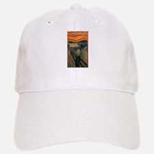 Edvard Munch's The Scream Baseball Baseball Cap