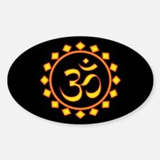 Fiery Om Decal