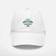 No Therapy Bacon Baseball Baseball Cap
