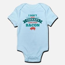 No Therapy Bacon Infant Bodysuit