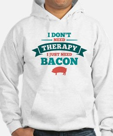 No Therapy Bacon Hoodie