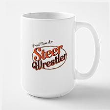 Proud Mom of a Steer Wrestler Mugs